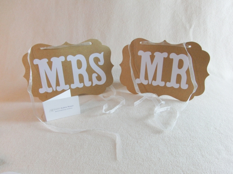 Mr and Mrs_Stuhlschilder - Candybar.de